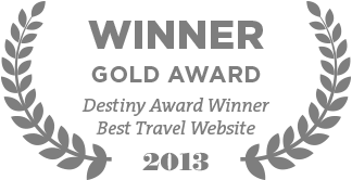 Destiny Award Winner Best Travel Website