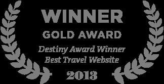 Destiny Award Winner Best Travel Website