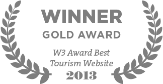 W3 Award Best Tourism Website