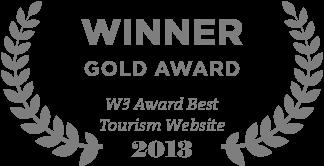 W3 Award Best Tourism Website