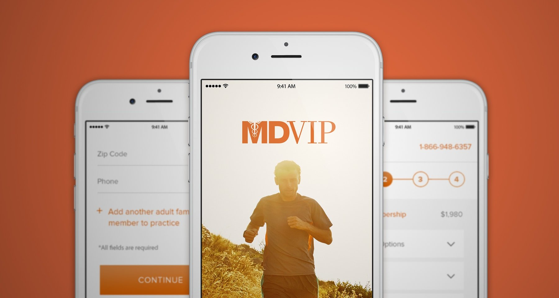 MDVIP brand awareness mobile experience