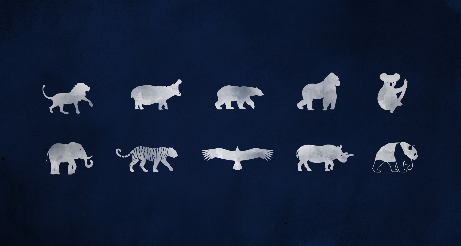 San Diego Zoo Centennial Icons