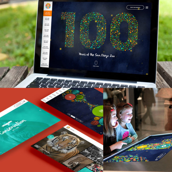 Mindgruve San Diego Zoo 100th Anniversary Microsite