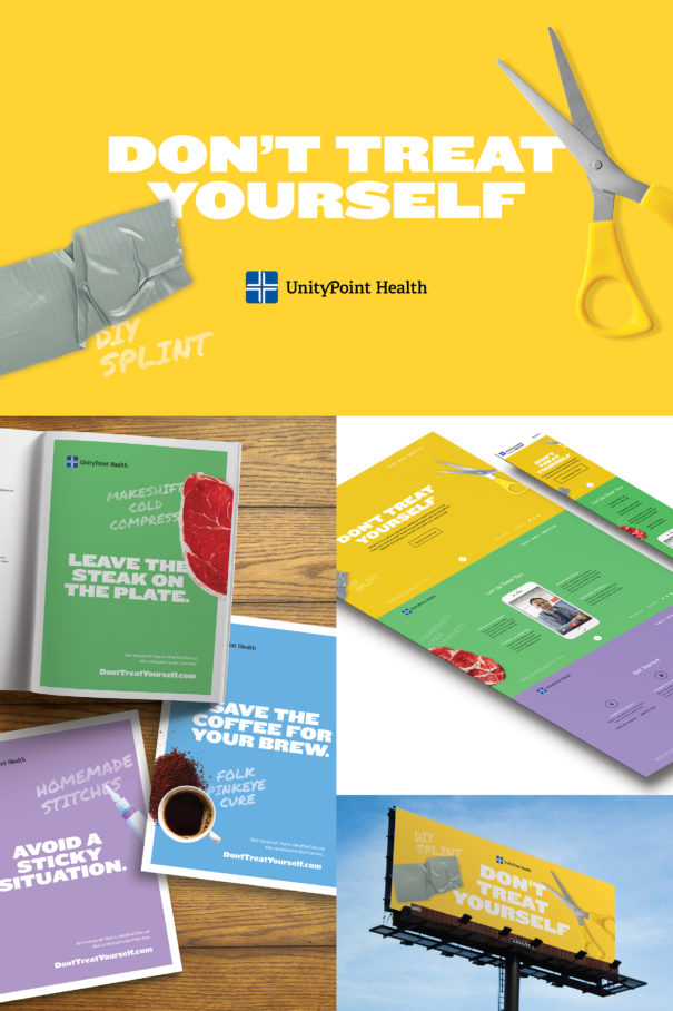 mindgruve unitypoint health don't treat yourself ad campaign